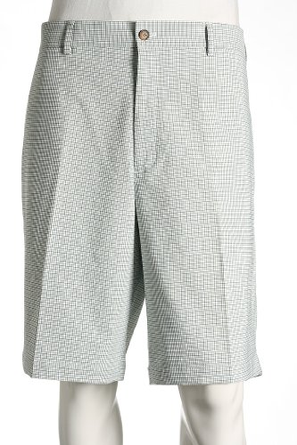 "Greg Norman Klassische Pro-fit-Herrenhose, Herren, Hosen, Classic Pro-fit Pant, Bambus Heather, W: 32"" x L: 34"" von Greg Norman"