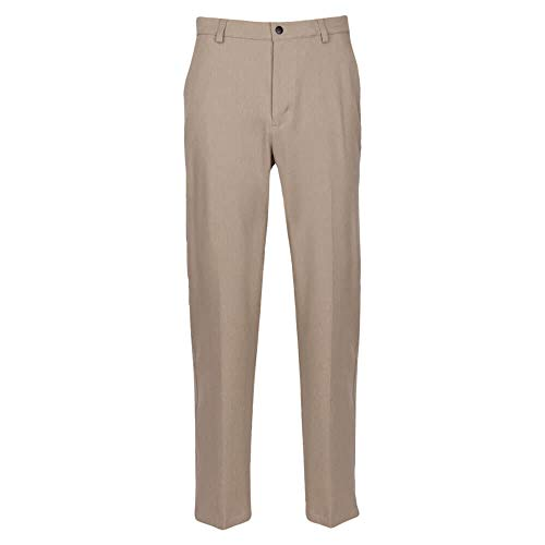"Greg Norman Herren Classic Pro-fit Pant Hosen, Bamboo Heather, W: 36"" x L: 34"" von Greg Norman"