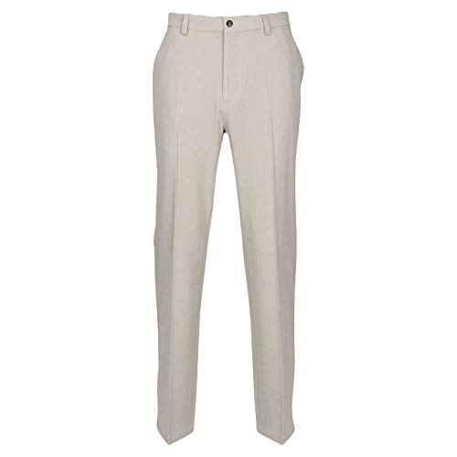 "Greg Norman Herren Classic Pro-fit Pant Hosen, Sandstone Heather, W: 32"" x L: 34"" von Greg Norman"