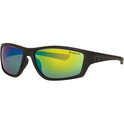 Greys G3 SUNGLASSES (MATT CARBON/GREEN MIRROR) von Greys
