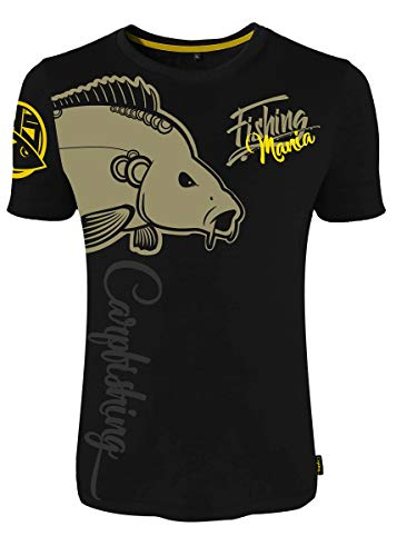 HOTSPOT DESIGN T-Shirt Fishing Mania Carpfishing Gr. M von HOTSPOT DESIGN