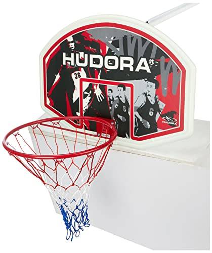 HUDORA Basketballkorb-Set In-/Outdoor - Basketball-Board - 71621 von HUDORA