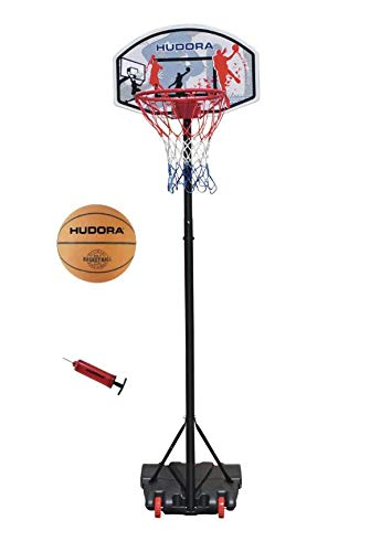 Hudora Basketballständer All Stars Ball und Pumpe 71665 by All Stars von HUDORA