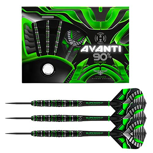Harrows Steel Darts Avanti 90% Tungsten Steeltip Dart Steeldart (24 Gr) von Harrows