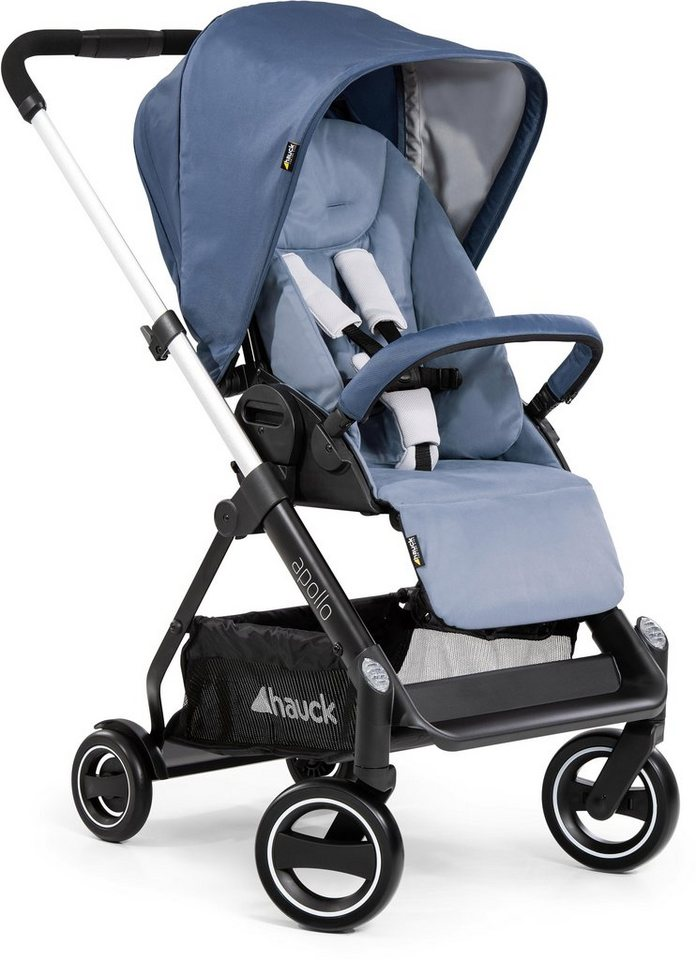 Hauck Sportbuggy »Apollo, denim«, inkl. Beindecke von Hauck