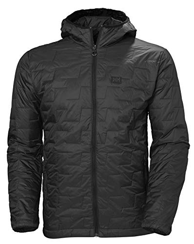 Helly Hansen Herren Lifaloft Hooded Insulator Jacke, Black Matte, XL von Helly Hansen