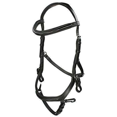 Horseware Rambo Micklem Deluxe Competition Bridle Pony Black von Horseware