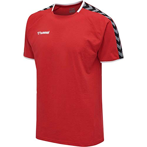 hummel Herren hmlAUTHENTIC Training Tee T-Shirt, True Red, L von Hummel