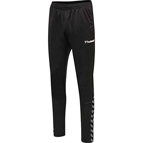 Hummel Jungen hmlAUTHENTIC Kids Training Pant, Black/White, 140 von Hummel