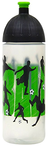 Blume des Lebens-Motiv ISYbe Original Marken-Trink-Flasche f/ür Kinder und Erwachsene Auslaufsicher auch mit Kohlens/äure geeignet f/ür Schule-Reisen-Sport-Outdoor Sp/ülmaschine-fest BPA-frei 700 ml
