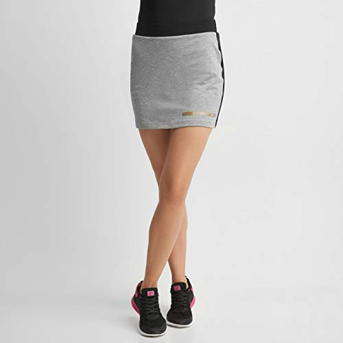 Intelligence Quality Damen BENYA WMNS Training Skirt, Grey Melange/Black, L von Intelligence Quality