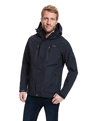 Jeff Green Herren Outdoorjacke Harstad Black von Jeff Green