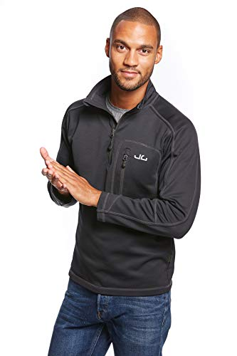 Jeff Green Herren Softshell Pullover Gent, Black, 56 (Größe: XXL) von Jeff Green