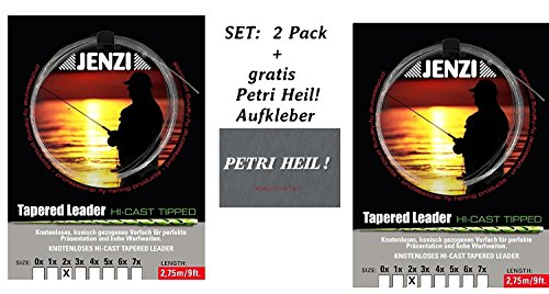 2 Packungen insgesamt 10 St/ück Method Feeder Aufkleber Vorf/ächer//Rig Hakengr/ö/ße 8 Jenzi SET gratis Petri Heil