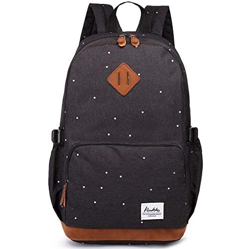 b17203ac8a8e5 Kaukko Damen Rucksack Studenten Backpack Laptop College Schulrucksack  Reiseeucksack