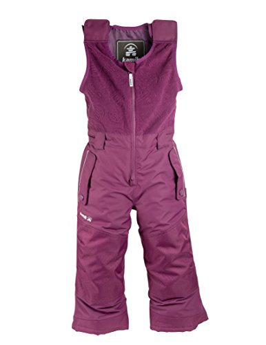 Kamik Kinder Winter Kinderhose, dk Purple, 86 von Kamik
