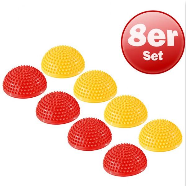 Kawanyo Balance Igel 8er Bundle Igelball Halbkugel Massage Noppen rot gelb blau gr/ün