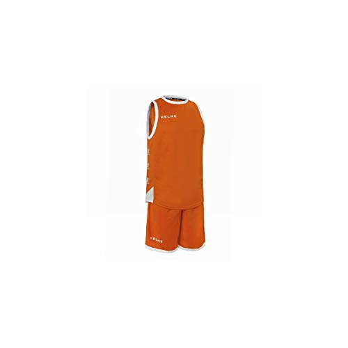 Kelme 80803 Basketball-Set, Kinder, Orange/Weiß, 6 von Kelme
