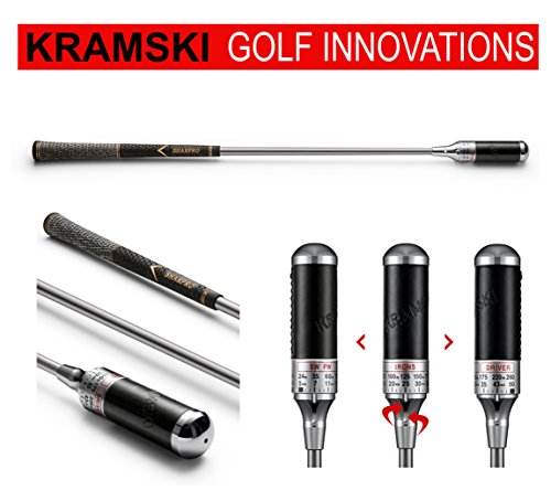 KRAMSKI Schwungtrainer One - Impact Swing Trainer + 1 x Killagolf©-Tees | das Exclusive Golfgeschenk ! von Kramski & Killagolf