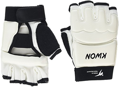 KWON®  Handschutz Taekwondo Handschoner Gr L weiss  neu