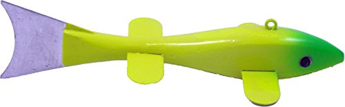 Lakco WSD6YG Wood Decoy 6 Yellow with Green von Lakco
