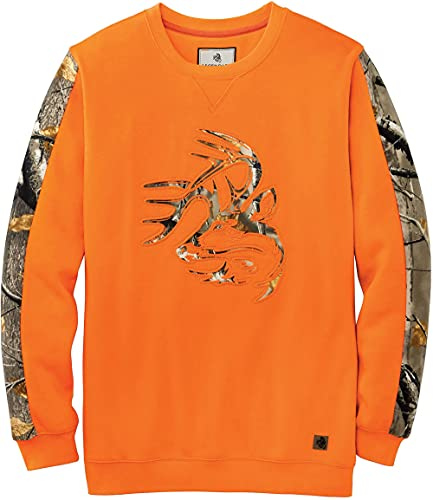 Legendary Whitetails Herren Outfitter Crewneck Sweatshirt Inferno Large Tall von Legendary Whitetails