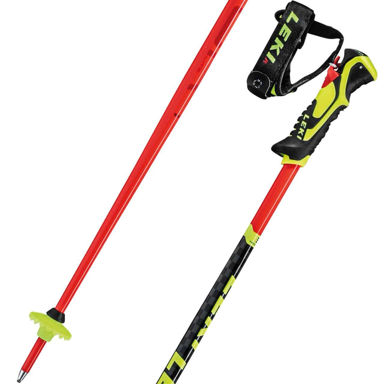 Leki WCR Lite SL 3D flashred/black/neonyellow von Leki