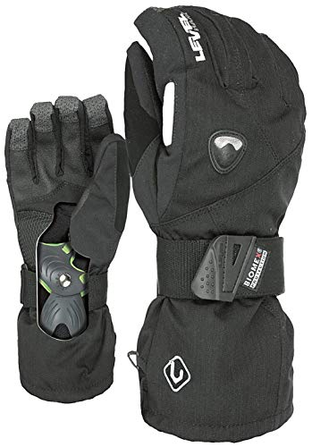 Level Herren Handschuhe Fly Black, 7,5 von Level