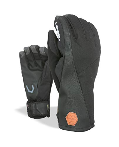 Level Herren Matrix Under Handschuhe, Black, 7.5 von Level