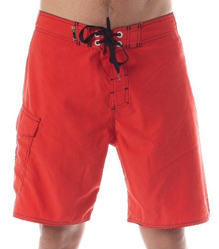 Light Herren Boardshorts OG, red, 33, lsdmbs0813 von Light