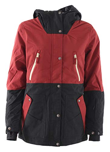 Light Damen Nation Jacket Black/Burgundy L von Light