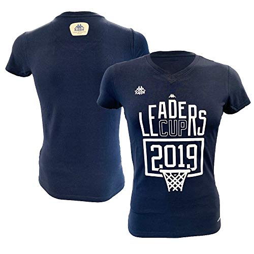 Ligue Basketball-T-Shirt, offizielles T-Shirt, Cup 2019, für Damen M blau von Ligue Nationale de Basket