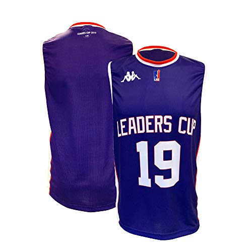 Ligue Nationale de Basket Offizielles Basketballtrikot L violett von Ligue Nationale de Basket