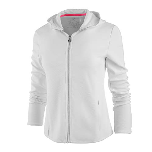 Limited Sports Damen Sports, Jani Trainingsjacke Weiß, Schwarz, 40 Oberbekleidung von Limited Sports