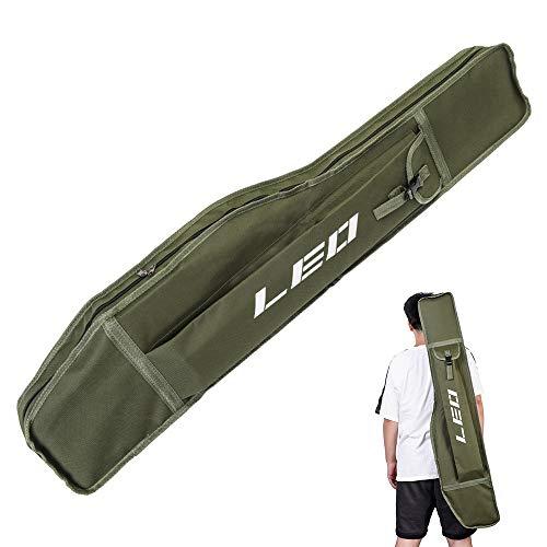 2 stücke Hard Fly Angelrute Tubes Tasche Bag Rod Organizer mit Tragegurt 65