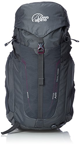 Lowe Alpine AirZone Trail ND 28 Women - Outdoorrucksack Damen,Iron Grey,28 von Lowe Alpine