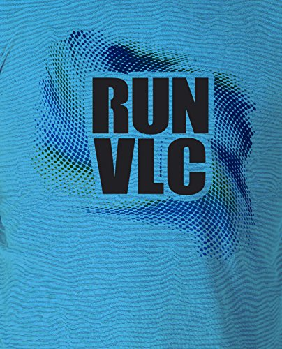 Luanvi Limited Edition Technisches T-Shirt Run Valencia, Herren M blau von Luanvi