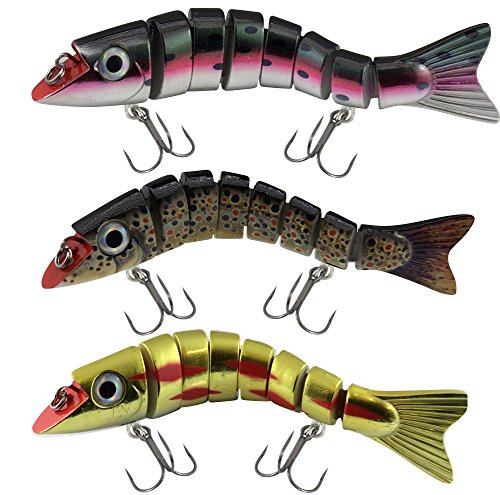 Lucky Bug Zombie Maxx 7 - Inch Lure Combo Sets - Three Assorted Colors von Lucky Bug