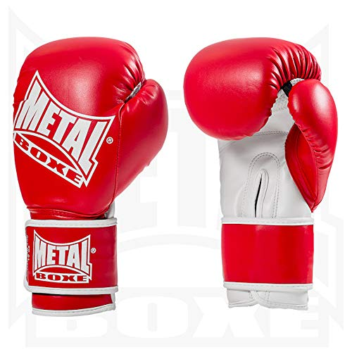 METAL BOXE MB200 Boxhandschuhe 284 g rot - rot von METAL BOXE