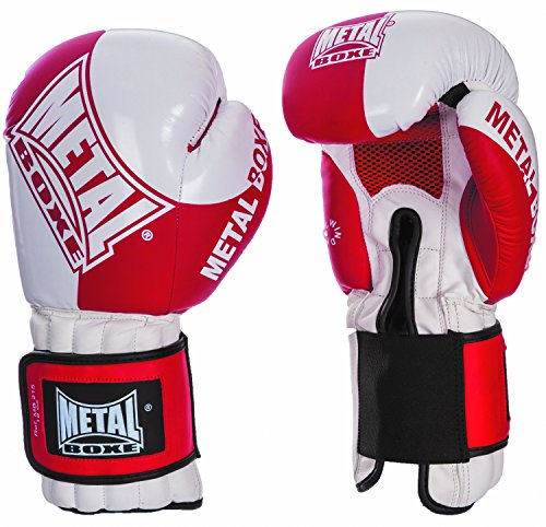 METAL BOXE MB215 Handschuhe, rot, Taille 10 oz von METAL BOXE