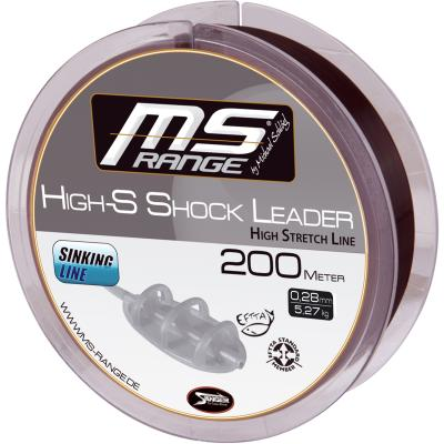 MS RANGE High-S Shockleader 0,26mm 200m von MS Range