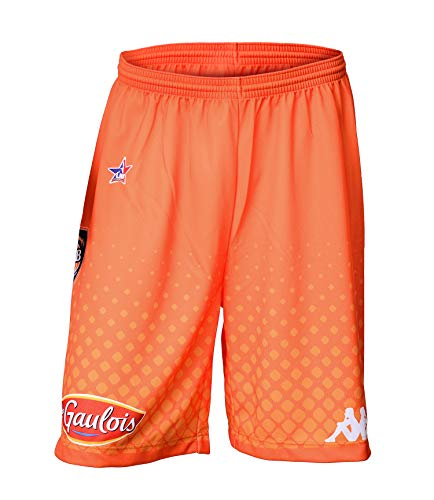 MSB Le MANS Offizielle Basketball-Shorts, Unisex, 2018-2019 S Orange von MSB Le MANS