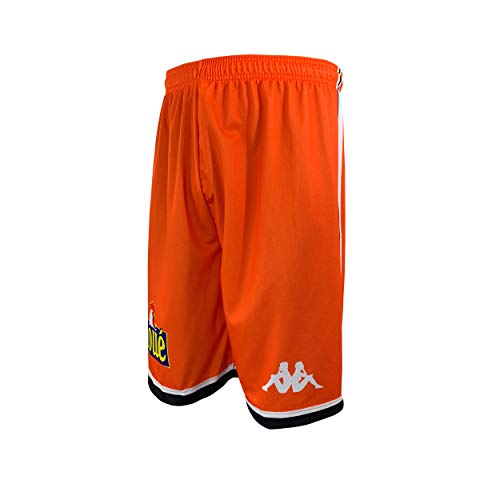 MSB Le MANS Offizielle Shorts, 2019-2020 Basketball, Unisex S Orange von MSB Le MANS