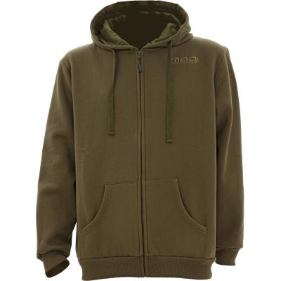 MAD Bivvy Zone Zip Hoodie Green L von Mad