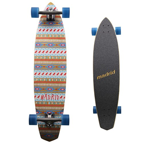 MADRID Longboard Dude Native Carving, 38.75 Zoll, 7141-702546 von MADRID