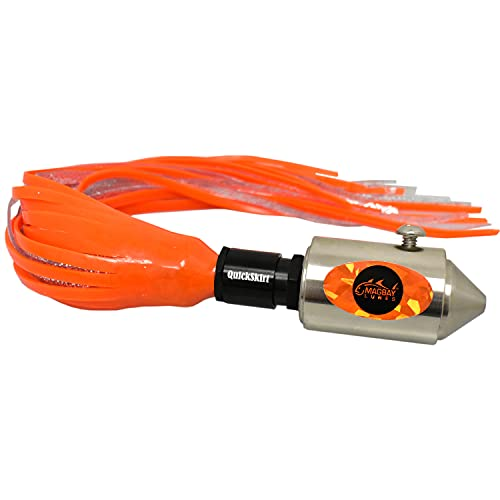 MagBay Lures Wahoo Lure MagBay Cencero High Speed Head Rattler (473 g, orange) von MagBay Lures