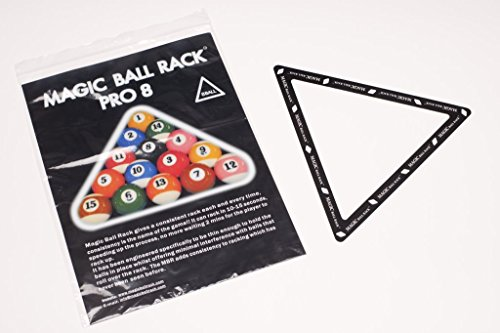 Magic Ball Rack Pro 8 Pool Billard Dreieck Aufbauschablone von MagicBallRack