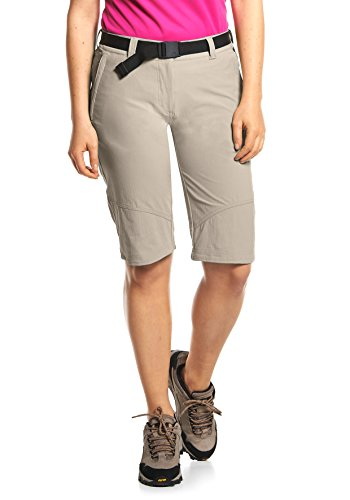 Maier Sports Damen Lawa Bermuda, Feather Gray, 38 EU von Maier Sports