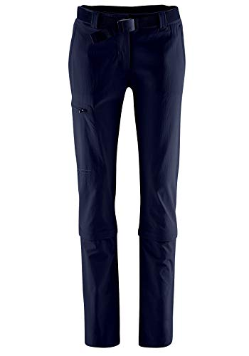 Maier Sports Damen Hose Arolla Zip Off, blau (night sky), 18 von Maier Sports