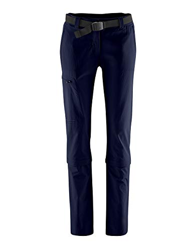 Maier Sports Damen Hose Arolla Zip Off, blau (night sky), 22 von Maier Sports